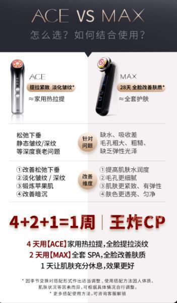 雅萌美容仪ace和max哪个好-雅萌美容仪ace和max使用方法