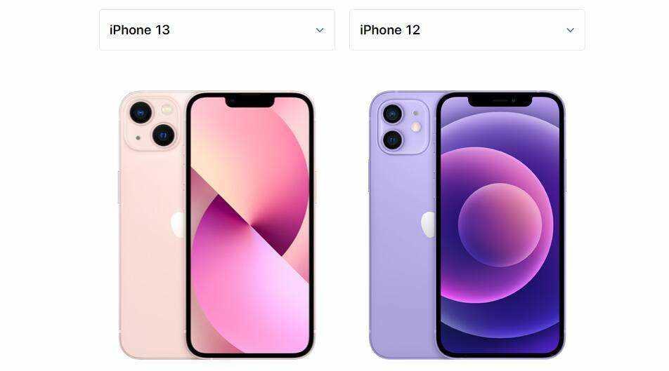 iphone12和13的区别-iphone12和13哪个值得买
